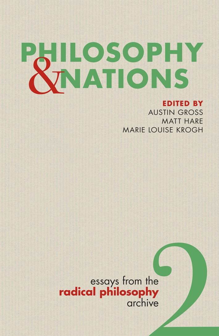 Vol. 2, Philosophy and Nations